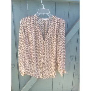A long sleeve blouse